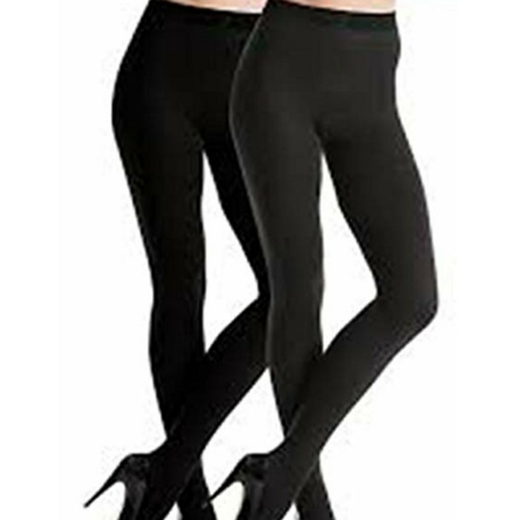 447a5b98dd Spanx Reversible Opaque tights Black Navy E